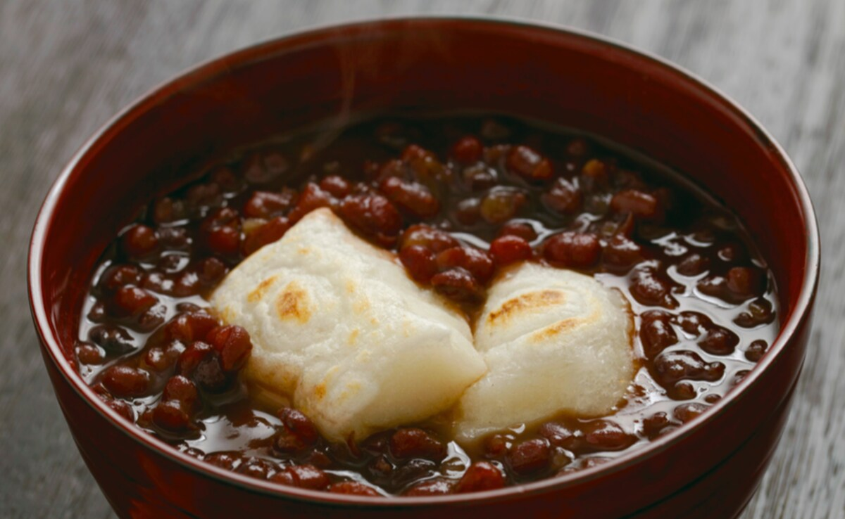 5. Zenzai: Black Beans & Mochi