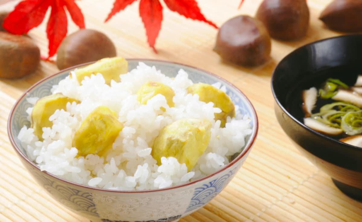 6. Kuri Gohan: Chestnut Rice