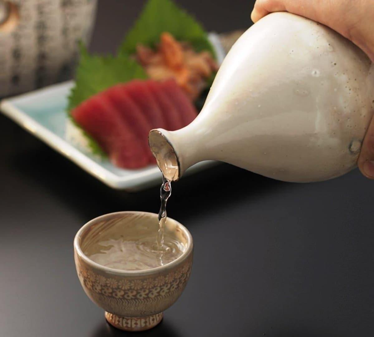 吃寿司的时候,喝什么?