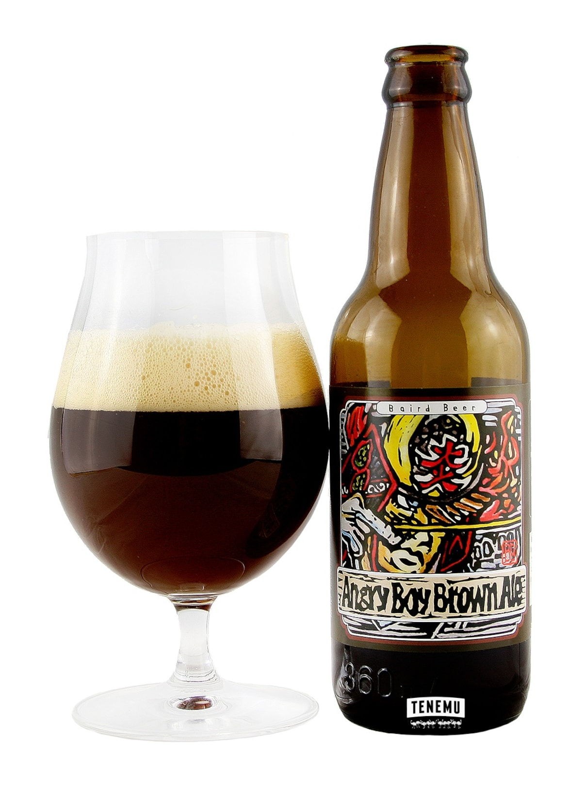 10. Angry Boy Brown Ale — Baird Brewing Company