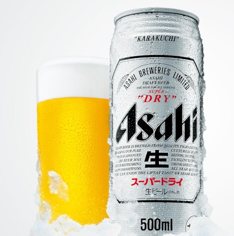 6. Asahi Super Dry