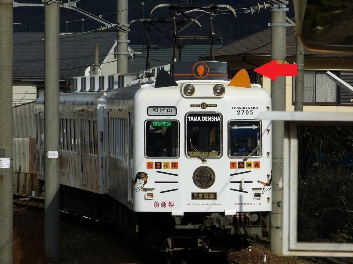6. รถไฟแมว Tama Densha