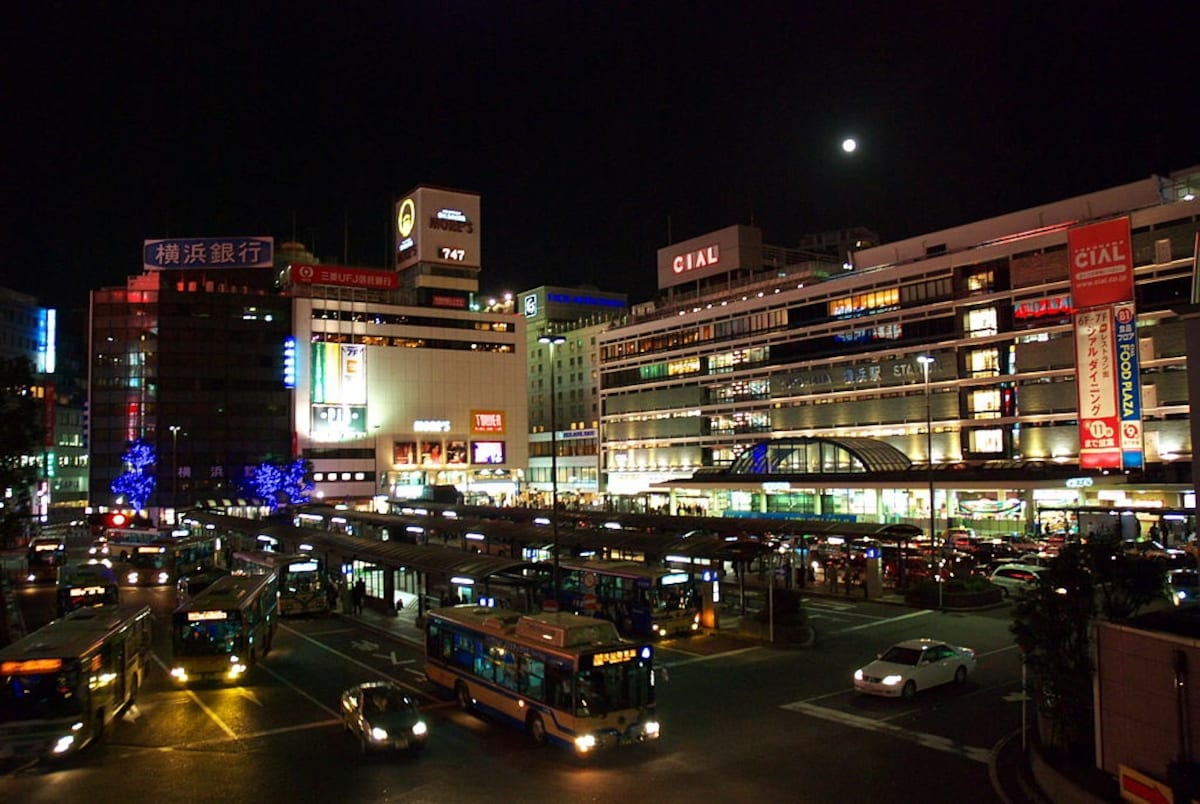 5. Yokohama Station (Kanagawa) — Approx. 760 million people/year