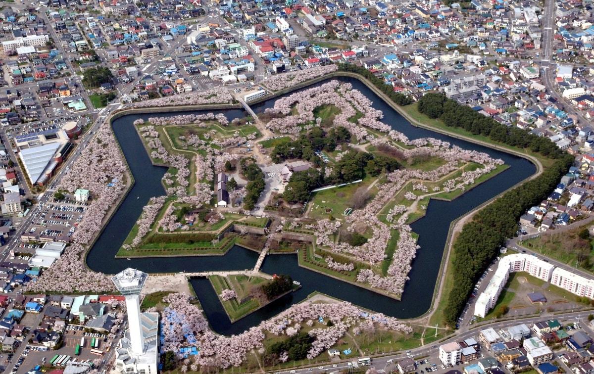 4. 五稜郭公园 (北海道)