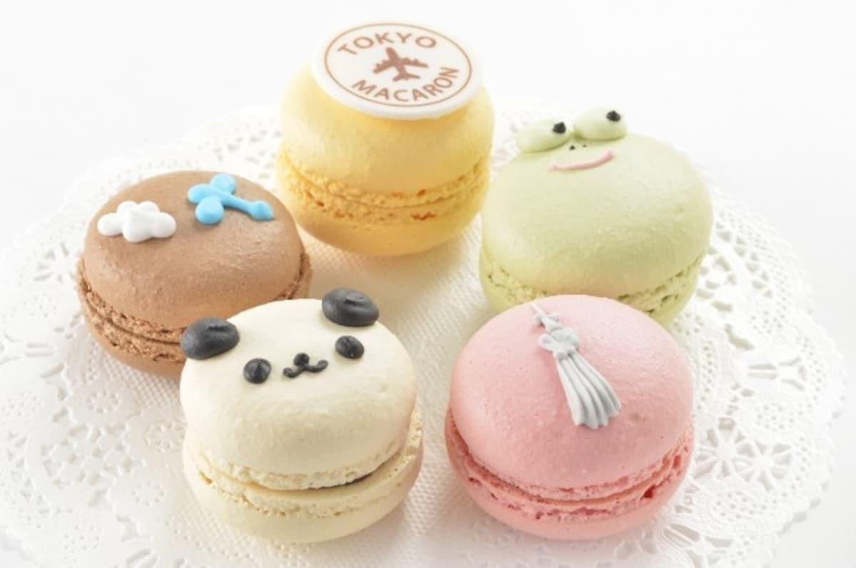 5. Oekaki Macarons by Anniversary