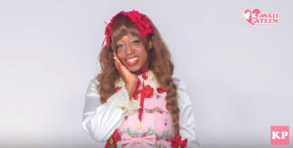 'We're looking for a black woman to be a makeup model for Lolita fashion.'