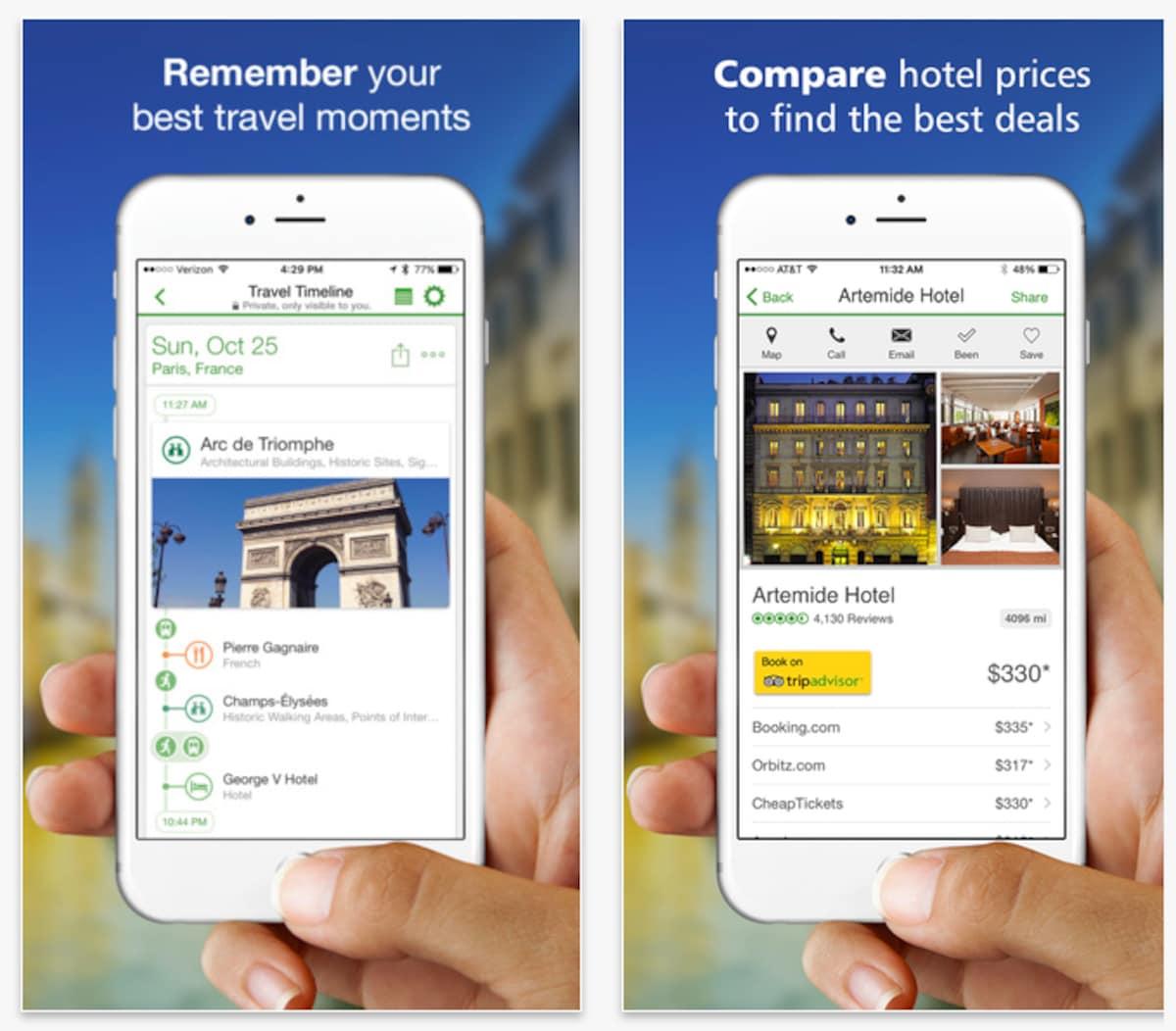 3. app แนะนำสถานที่ท่องเที่ยว Tripadvisor