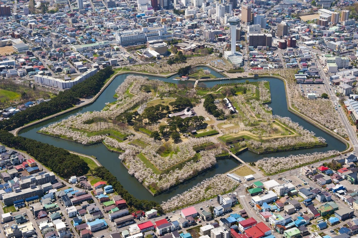 7. Goryokaku Fort: The Republic's Last Stand
