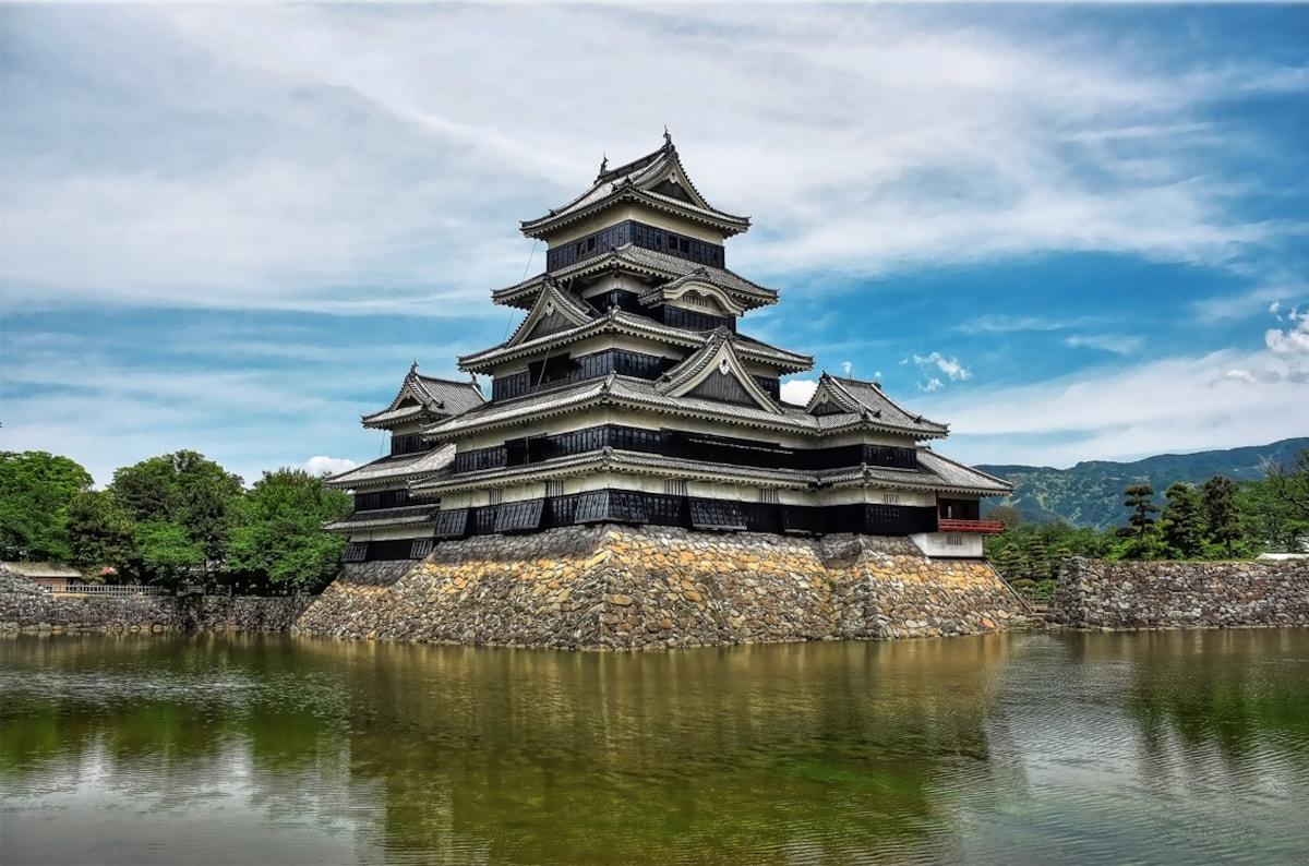 2. ปราสาท Matsumoto (เมือง Matsumoto จังหวัด Nagano)