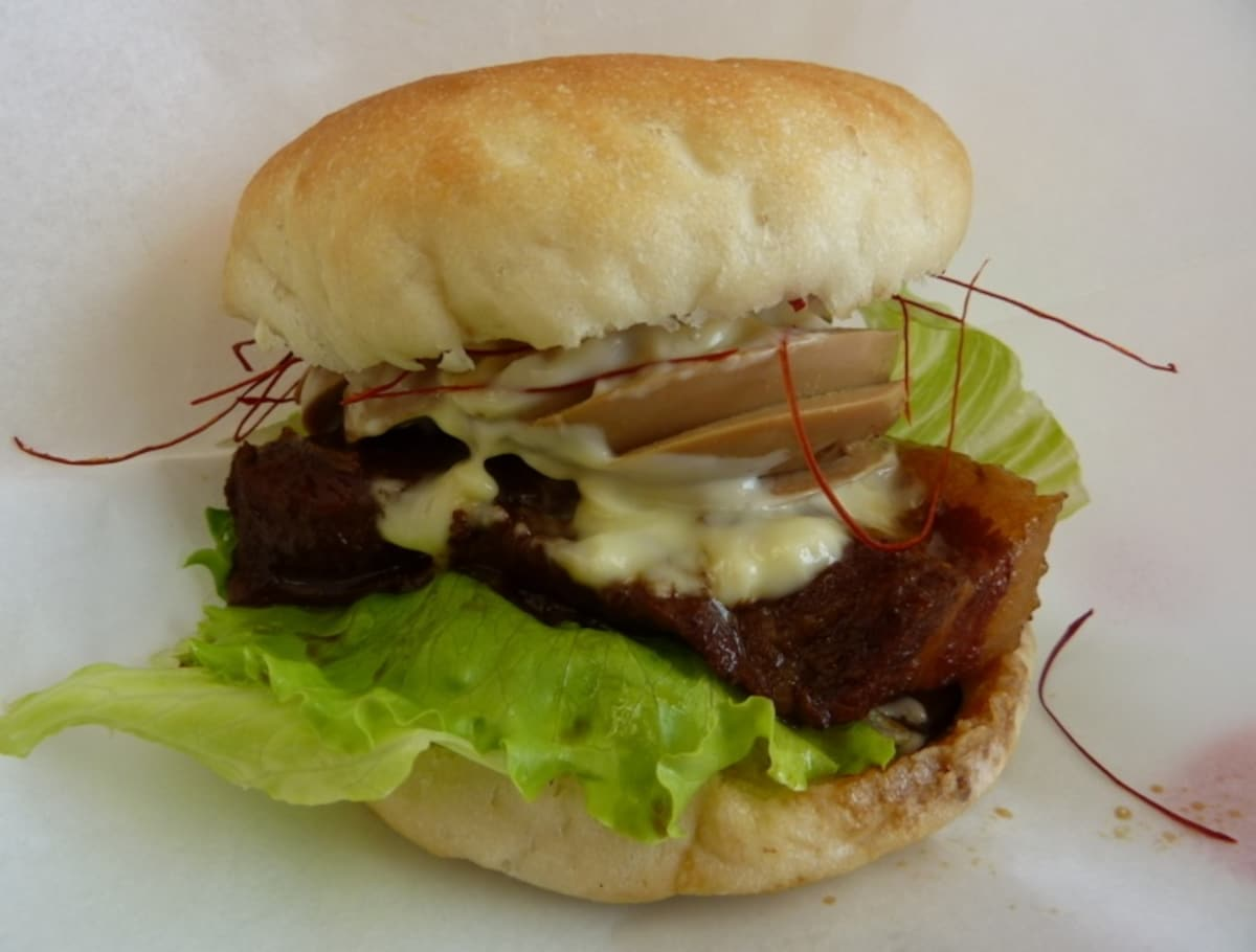 4. Akamatsu Stewed Pork Burger
