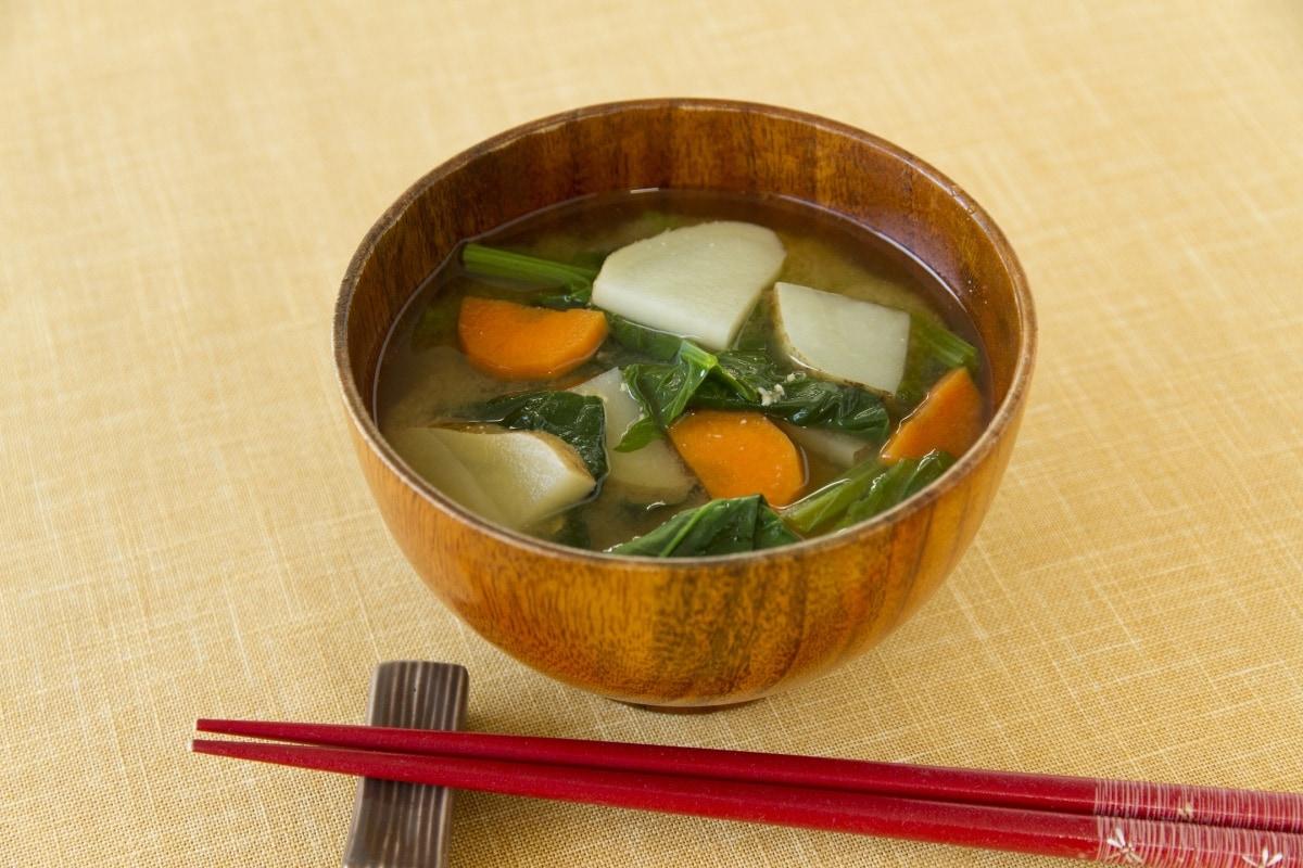 1. 蔬菜味噌汤