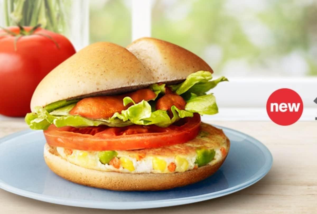 อันดับ 6 / 293kcal / Vegetable Chicken Burger / McDonald's
