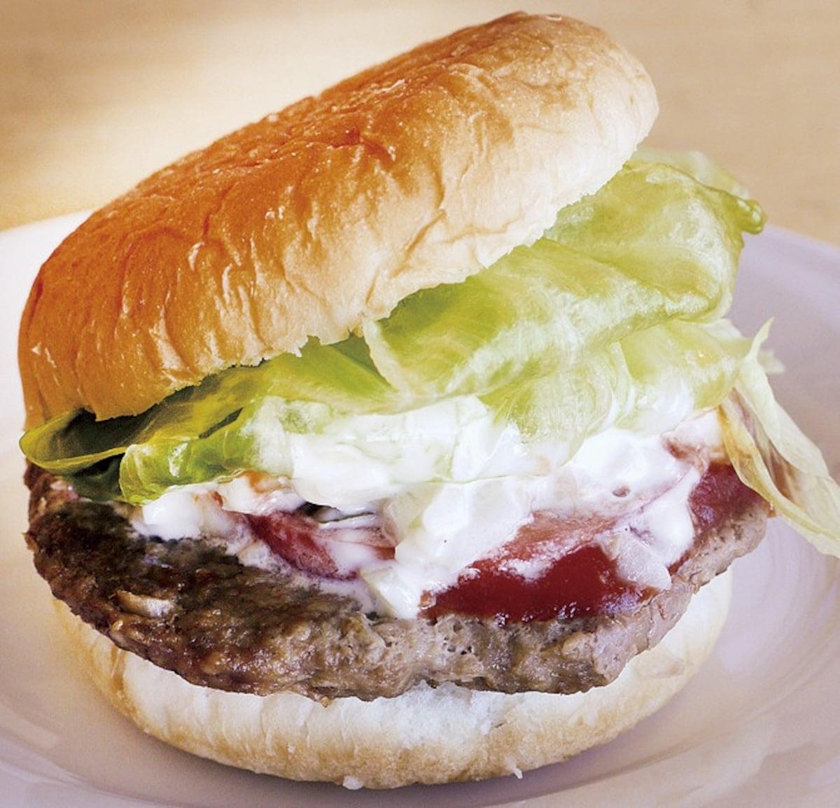 3. Hiruzen Jersey Land Burger (Maniwa City)
