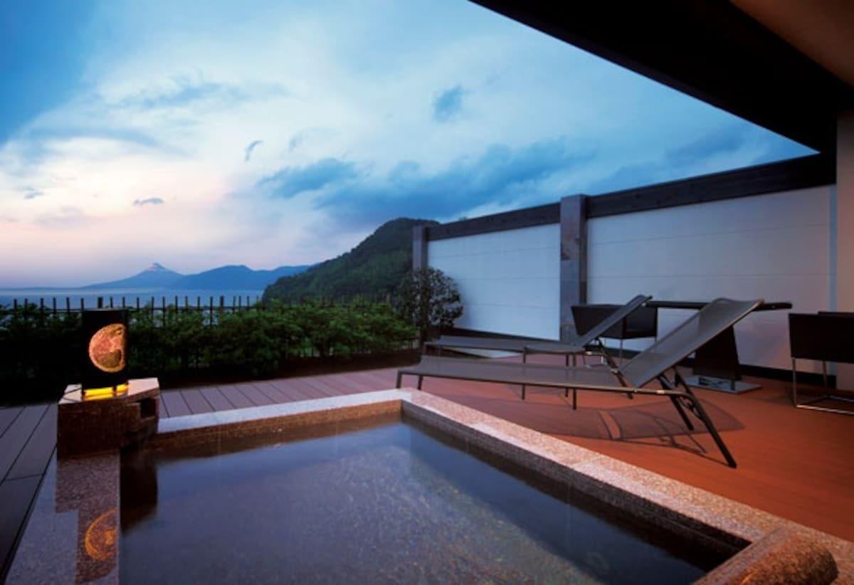 ■在明媚山水間眺望世界遺産富士山