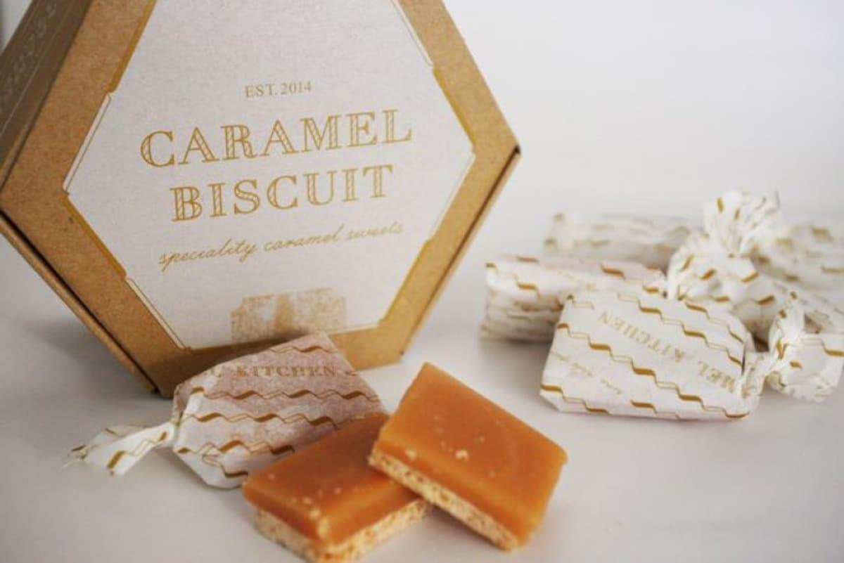 13. Glico's amazing caramel biscuit