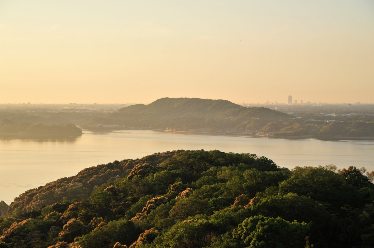 History of Lake Hamana