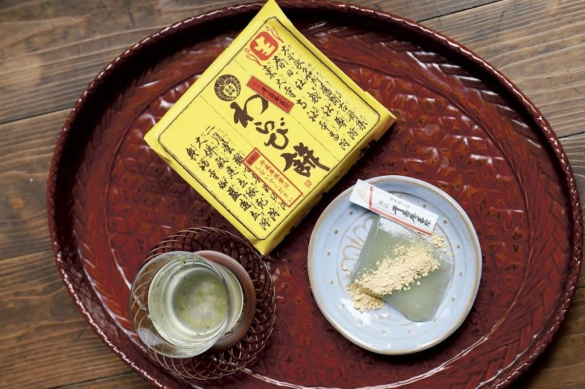 蕨餅|菓匠 千壽庵吉宗 奈良總本店
