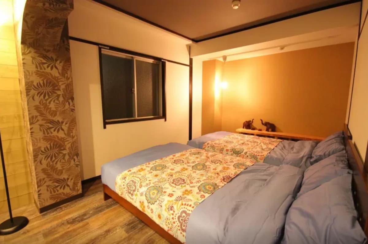 Airbnb  5. Traditional home in Naka-ku, Hiroshima-city