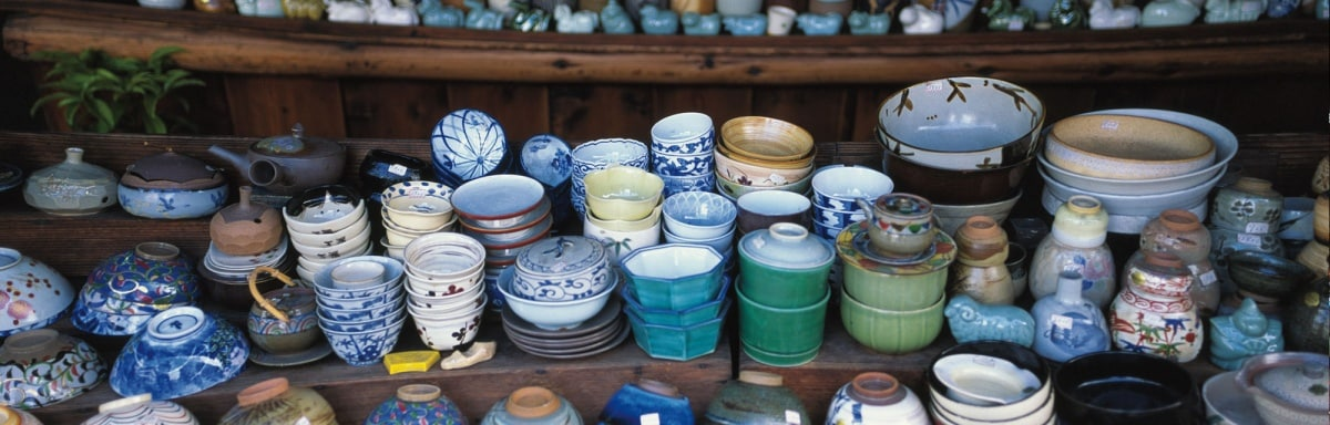 1. Oosaki-jinja Shrine Otakara Antique Market [จังหวัด Tochigi]