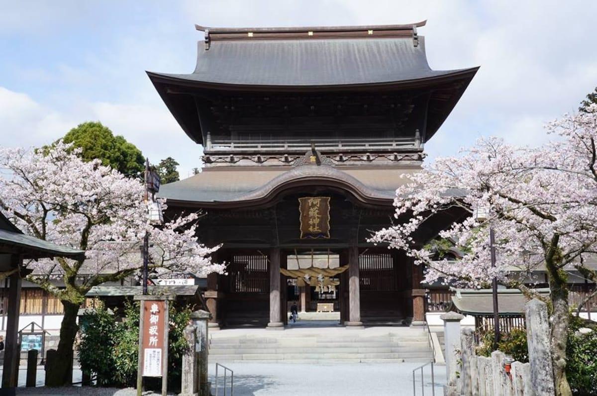 5. Aso Shrine (Kumamoto)