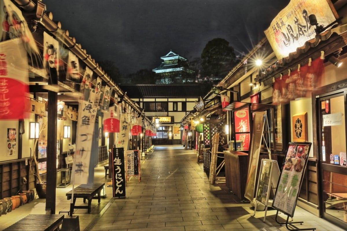 7. เมืองเก่า Sakuranobaba Josaien