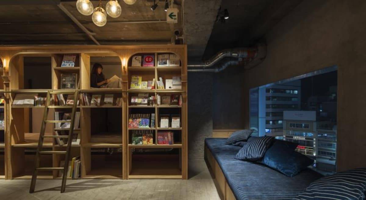 Book And Bed Tokyo 이용방법