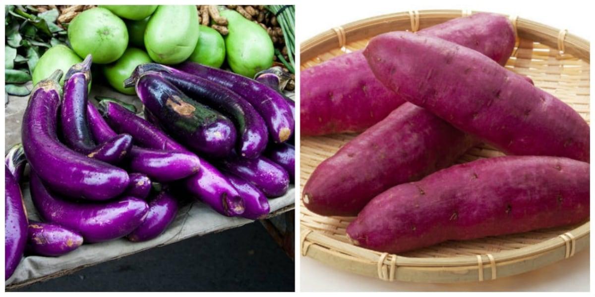 5. Eggplant & Sweet Potato