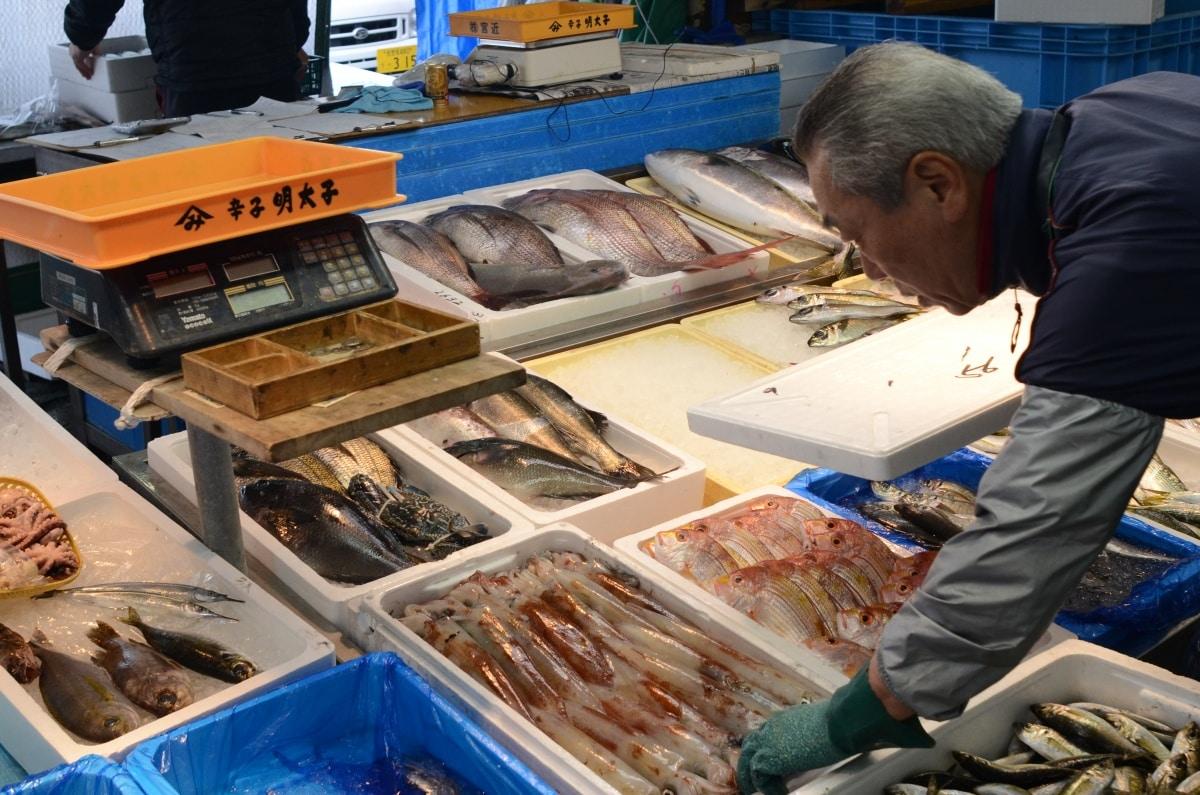 1. Sasebo Morning Market