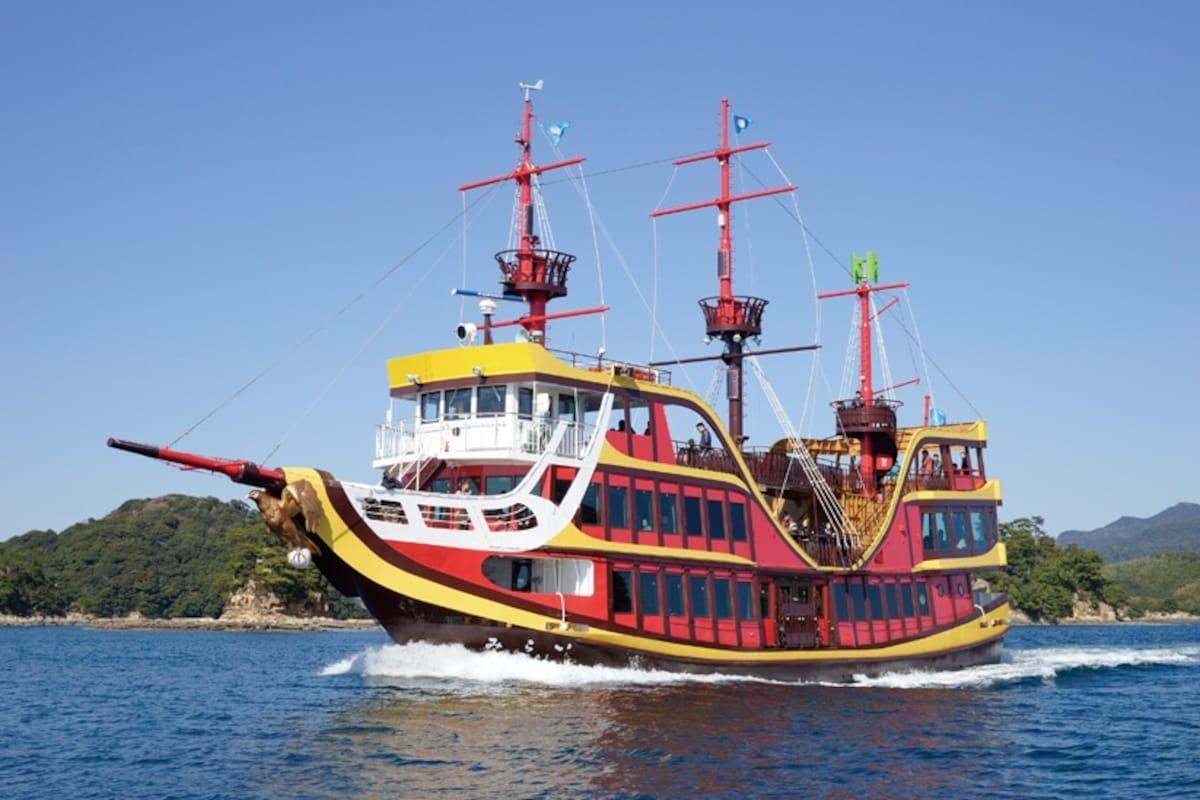 1. 暢遊大海!九十九島珍珠海洋遊覽區