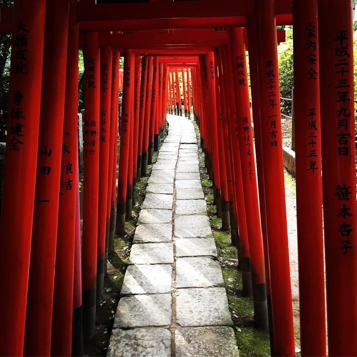 1. Nezu Shrine (Tokyo)