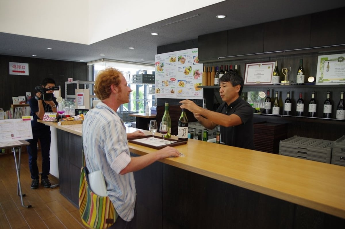 These were the four wineries I visited:   4. Asaya