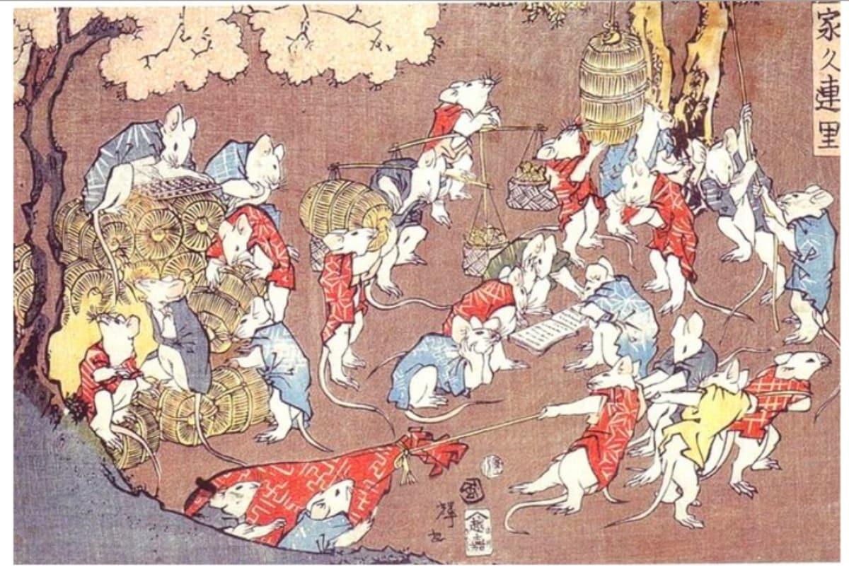 7. Utagawa Kuniteru (歌川国輝)
