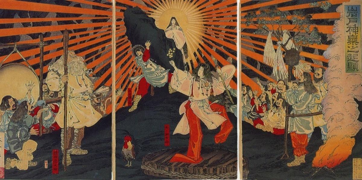 ไก่ในศาลเจ้า Ise Grand Shrine