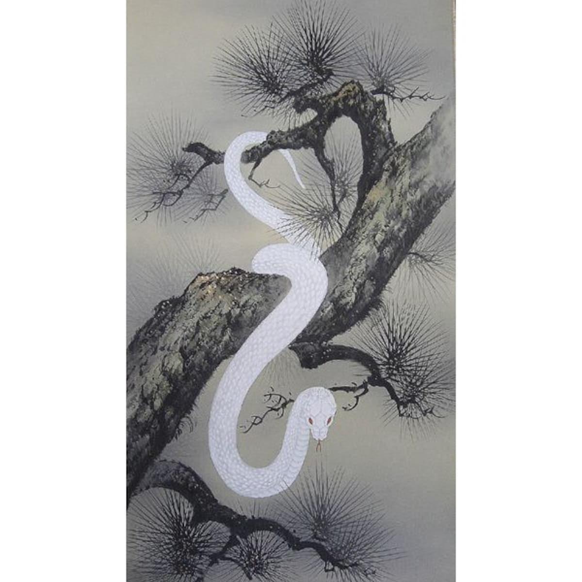 7. งูเผือก หรือคราบงู