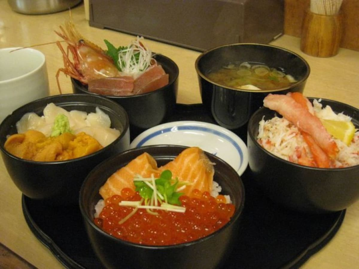 20. Donburi Chaya: Taste a wide variety of seafood