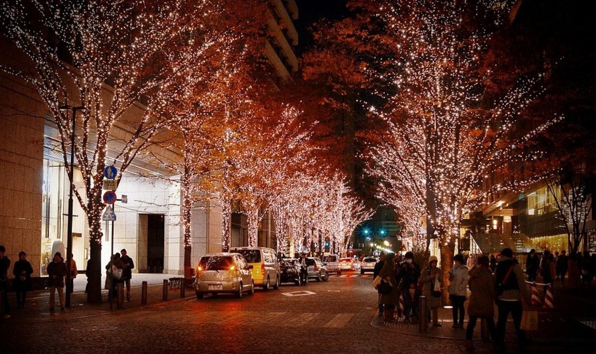 5. บรรยากาศของคริสต์มาสญี่ปุ่นเริ่มหลังจากวันฮัลโลวีนทันที