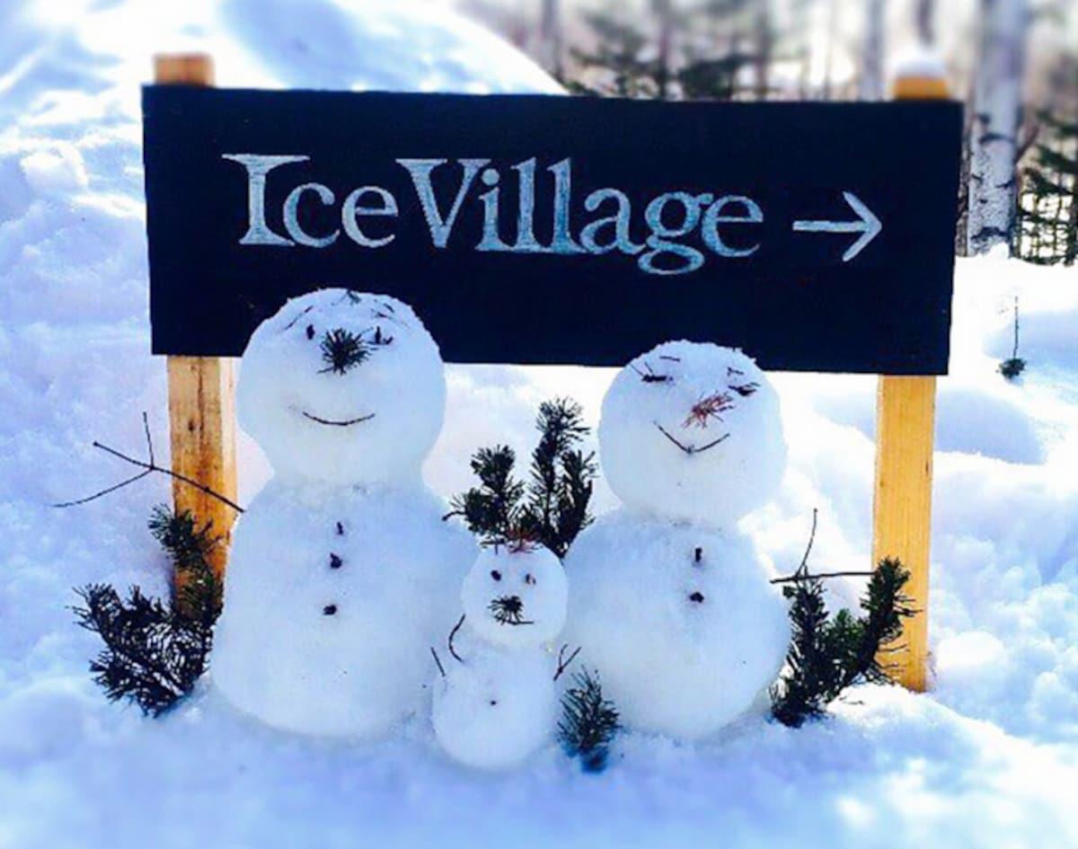Ice Village เป็นที่แบบไหน?