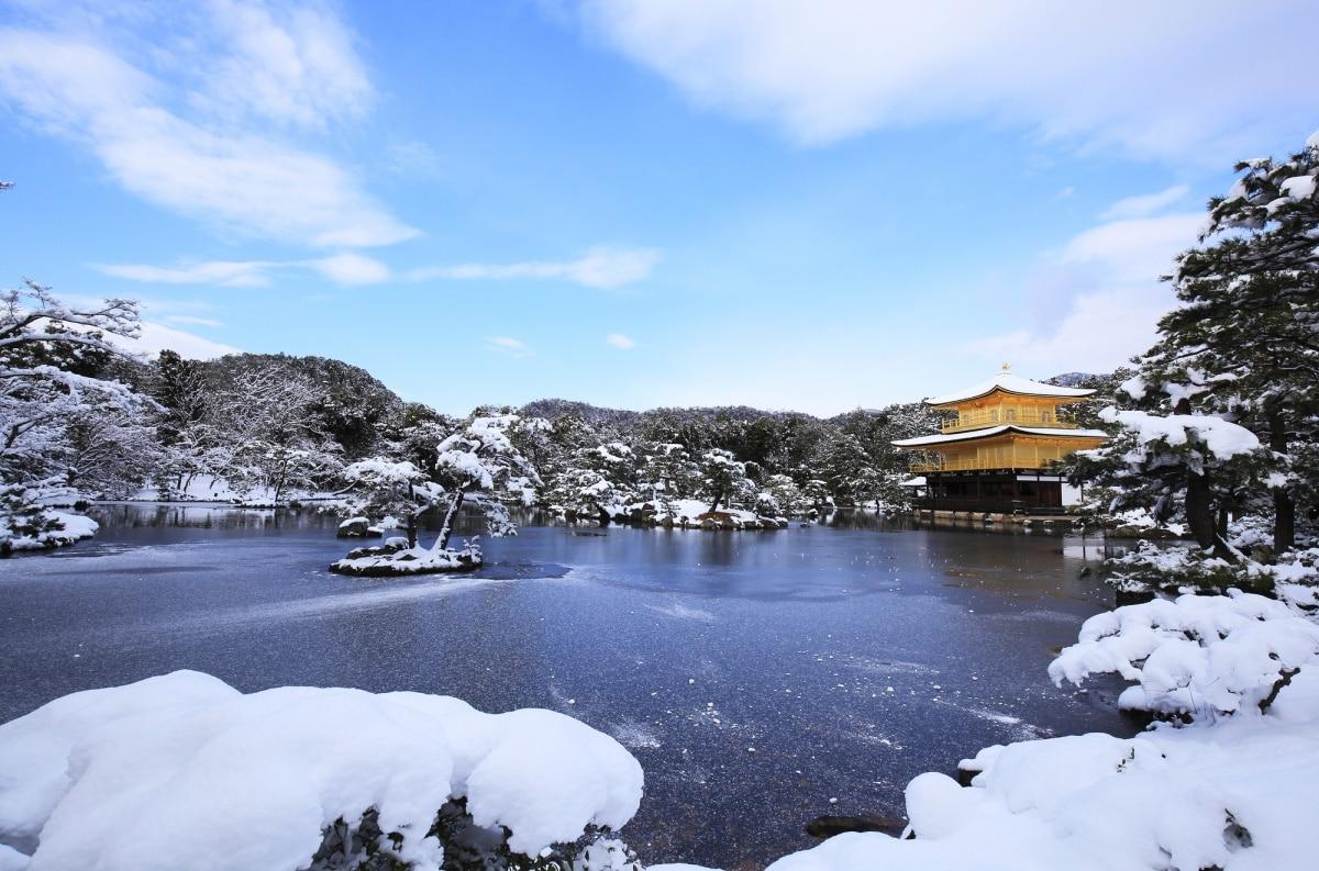 8. Kinkakuji in Winter (Kyoto)
