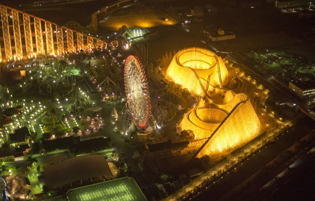 Best Roller Coasters in Western Japan
