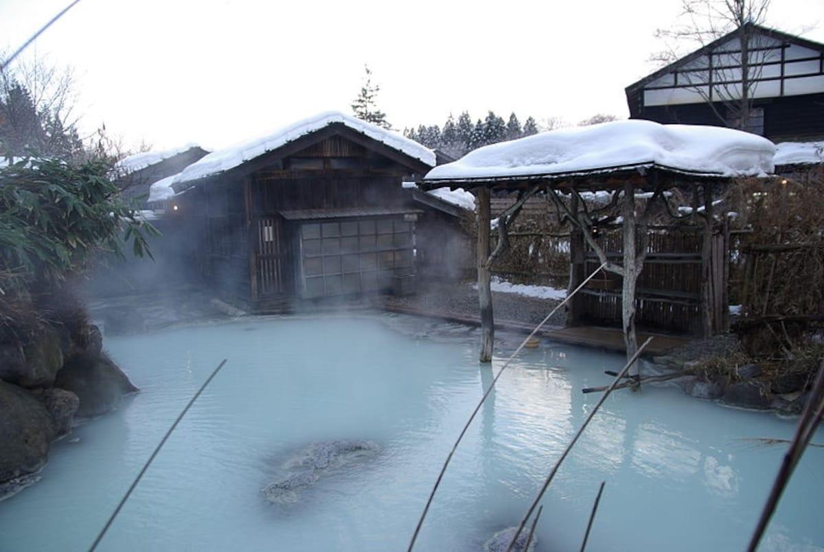 4. Nyuto Onsen — Akita