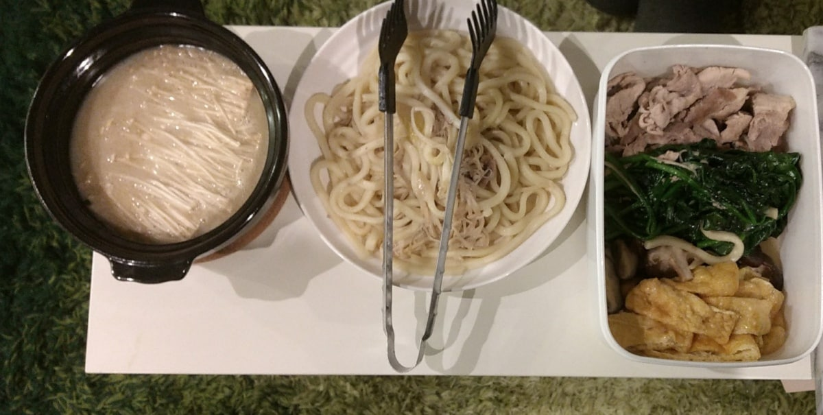 5. Pork, Mushroom & Bean Curd Hot Pot