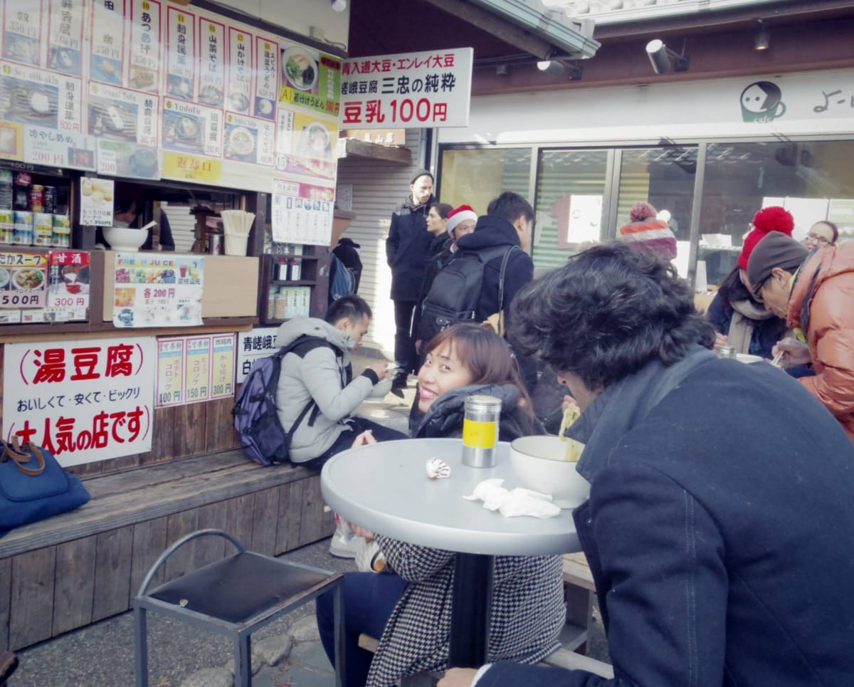 5. Try the ¥100 Street Food