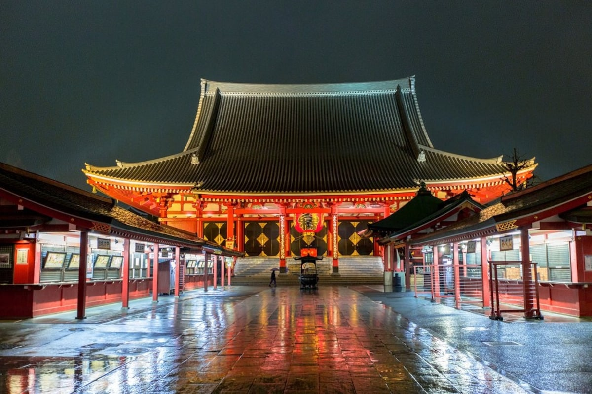 1. Asakusa - district with an old Tokyo atmosphere