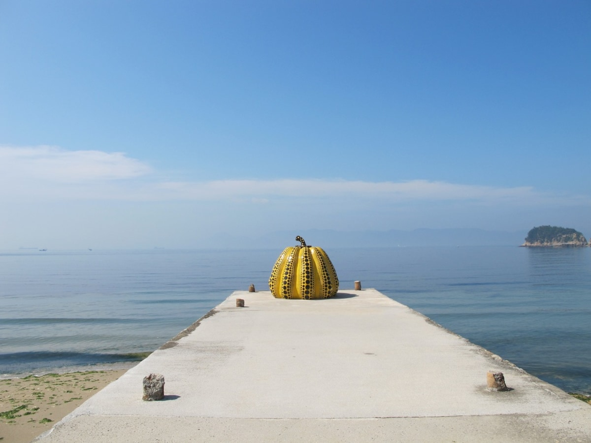 In the morning: visit the Naoshima Art Island