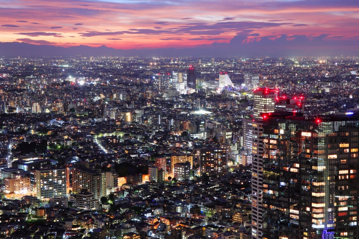 8. See the View From the Tokyo Metropolitan Government Building (Shinjuku)