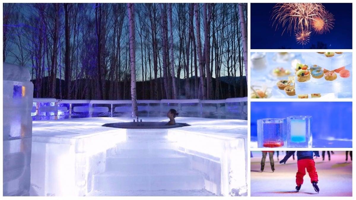 January — Ice Village & Hotel