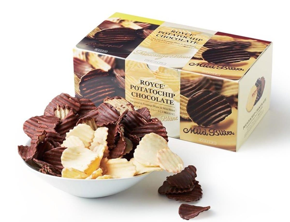 5. Chocolate Potato Chips