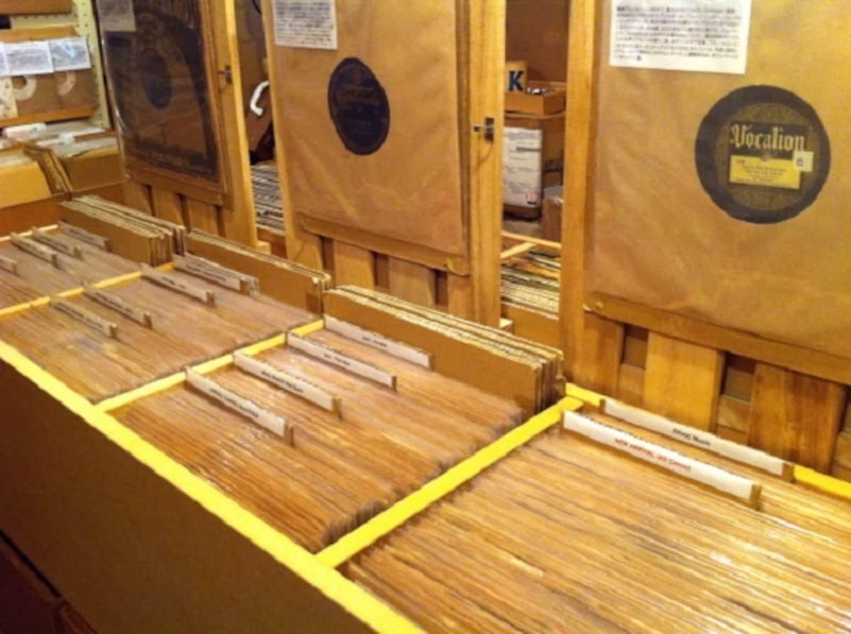 1. Noah Lewis Records (Shimokitazawa)