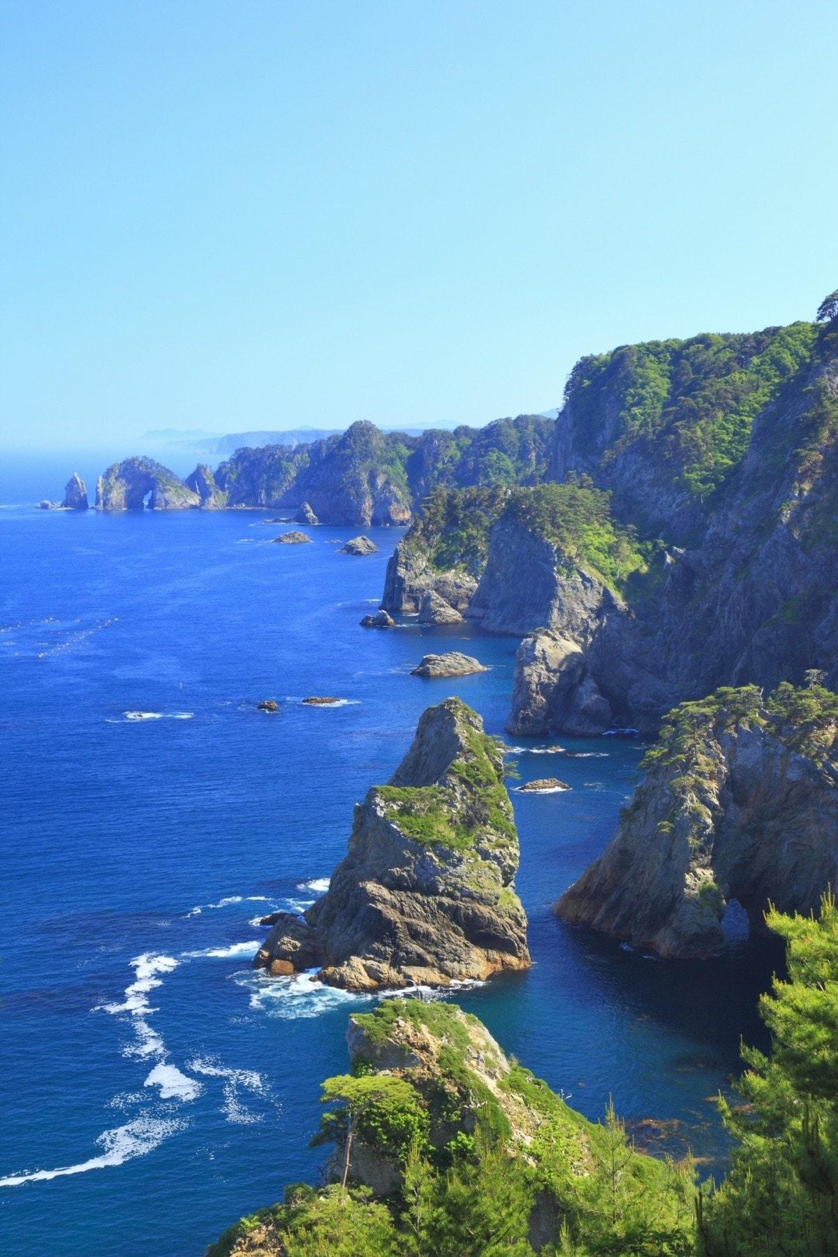 16. Sanriku Coast (Aomori, Iwate & Miyagi)