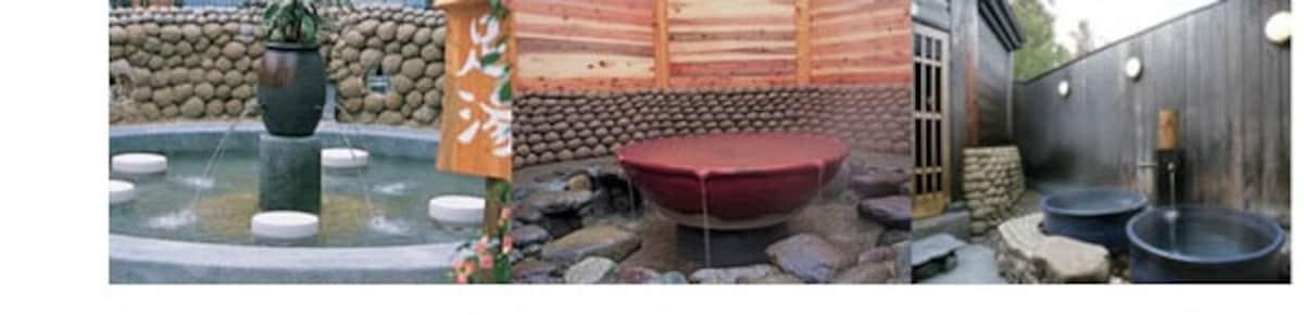 ออนเซ็นที่อุดมไปด้วยอ่างอาบน้ำหลากหลายสไตล์ ที่เกียวโต อามาโนะฮาชิดาเทะ